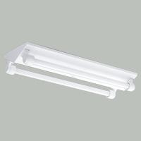 ☆三菱 逆富士直管形LED照明器具 防雨・防湿タイプ MILIE(ミライエ) Lファインeco FLR20形×2 100~242V 白色 1200lm×2 固定出力形(ランプ付) ELLWV2072AHJ+LDL20TW1012G3