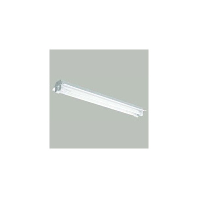 ☆三菱 反射笠付直管形LED照明器具 防雨・防湿タイプ MILIE(ミライエ) Lファインeco FLR40形×2 100~242V 白色 高出力3500lm×2 初期照度補正タイプ(ランプ付) ELLYWH4012AAHJ+LDL40TW2735G3