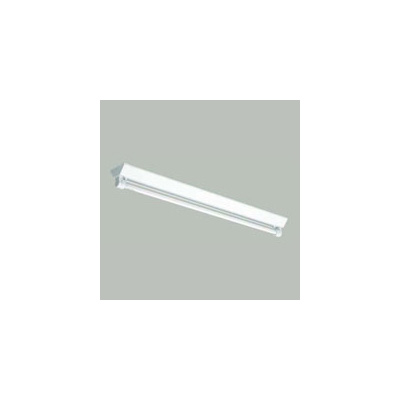☆三菱 逆富士直管形LED照明器具 防雨・防湿タイプ MILIE(ミライエ) Lファインeco FLR40形×1 100~242V 白色 定格出力2300lm×1 初期照度補正タイプ(ランプ付) ELLYWV4011AAHJ+LDL40TW1723G3