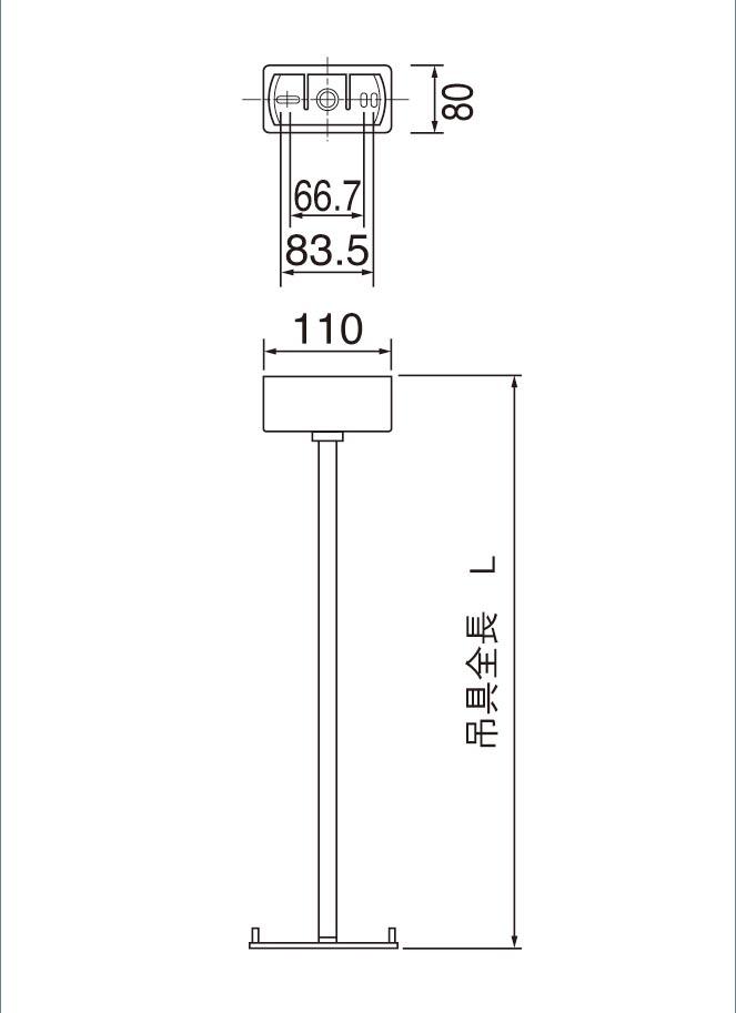7700円以上で送料無料 パナソニック 誘導灯用 直送商品 吊具 FP01650P 長さ500mmタイプ 角タイプ 通信販売