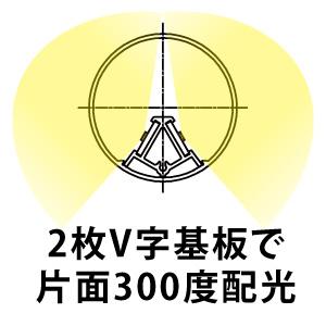 ☆ニッケンハードウェア 看板灯用直管形LEDランプ(LED蛍光灯) View Lamp Tube 32W形代替品(FL32S形) 15W 6000K 昼光色相当 片面300°配光 電源内蔵 1850lm IP65 VLTK15W