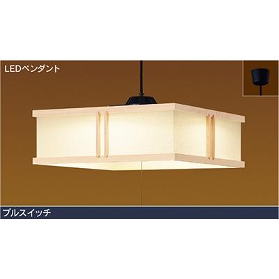 ☆東芝 和風照明 LEDペンダント 透角(とうかく) ~14畳 電球色 プルスイッチ付き 引掛シーリング LEDP86015PLLD