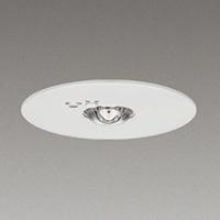☆東芝 LED非常用照明器具 埋込形 専用形 Φ100 低天井用 一般形 9形(JB3.6V9W相当) 常時消灯/非常時LED点灯 LEDEM09221N