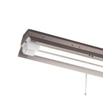 ☆東芝 LEDベースライト 防湿・防雨形 反射笠非常用器具 ステンレス Jタイプ LDL40×2灯用 非常時定格光束2500lm×50% 非常時30分間点灯 昼白色 LEDランプ付 LEDTJ42183MLS9 ※受注生産品