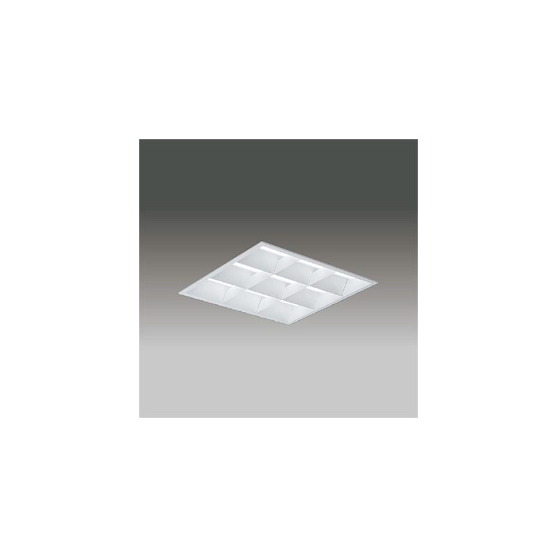 ☆東芝 LEDベースライト TENQOOスクエア LEDバータイプ FHP32形×4灯用器具相当 昼光色 埋込形 バッフルタイプ 埋込穴□450mm AC100V~242V 専用調光器対応 LEDバー付 LEKR741852DLD9