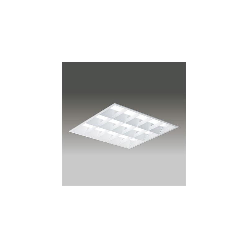 ☆東芝 LEDベースライト TENQOOスクエア LEDバータイプ FHP45形×3灯用器具相当 昼光色 埋込形 バッフルタイプ 埋込穴□600mm AC100V~242V 専用調光器対応 LEDバー付 LEKR761902DLD9