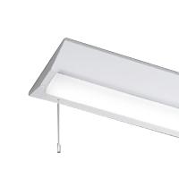 ☆東芝 LEDベースライト TENQOO 直付形 40タイプ W230 一般タイプ6,900lmタイプ Hf32形×2灯用 高出力器具相当 昼光色 AC100V~242V プルスイッチ付き LEDバー付き LEET42301PLS9+LEEM40693D01