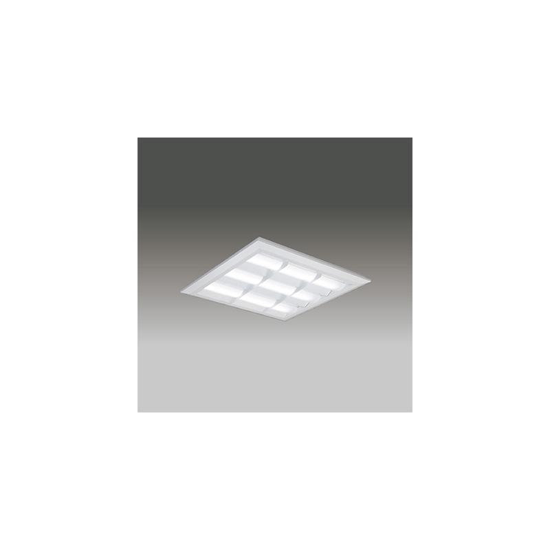 ☆東芝 LEDベースライト TENQOOスクエア LEDバータイプ FHP32形×4灯用器具相当 昼光色 直付埋込兼用形 バッフルタイプ 埋込穴□540mm AC100V~242V 専用調光器対応 LEDバー付 LEKT751852DLD9