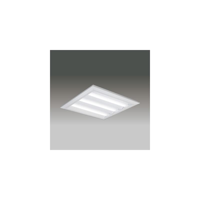 ☆東芝 LEDベースライト TENQOOスクエア LEDバータイプ FHP45形×3灯用器具相当 昼光色 直付埋込兼用形 下面開放タイプ 埋込穴□690mm AC100V~242V 専用調光器対応 LEDバー付 LEKT770902DLD9