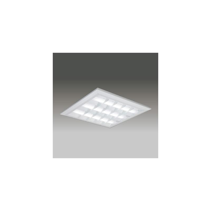 ☆東芝 LEDベースライト TENQOOスクエア LEDバータイプ FHP45形×4灯用器具相当 昼光色 直付埋込兼用形 バッフルタイプ 埋込穴□690mm AC100V~242V 専用調光器対応 LEDバー付 LEKT771112DLD9