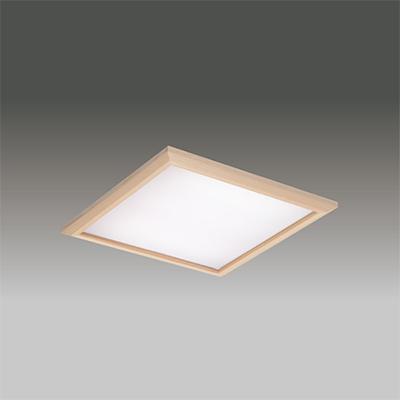 ☆東芝 LEDベースライト TENQOOスクエア パネルタイプ FHP32形×3灯用器具相当 温白色 埋込形 和風乳白パネル 埋込穴□450mm AC100V~242V 専用調光器対応 LEDパネル付 LEKR745651JWWLD9