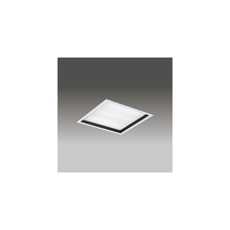 ☆東芝 LEDベースライト TENQOOスクエア パネルタイプ FHP32形×3灯用器具相当 白色 埋込形 深枠(黒)パネル 埋込穴□450mm AC100V~242V 専用調光器対応 LEDパネル付 LEKR745651KWLD9