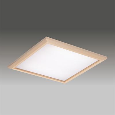 ☆東芝 LEDベースライト TENQOOスクエア パネルタイプ FHP45形×3灯用器具相当 温白色 埋込形 和風乳白パネル 埋込穴□600mm AC100V~242V 専用調光器対応 LEDパネル付 LEKR760901JWWLD9