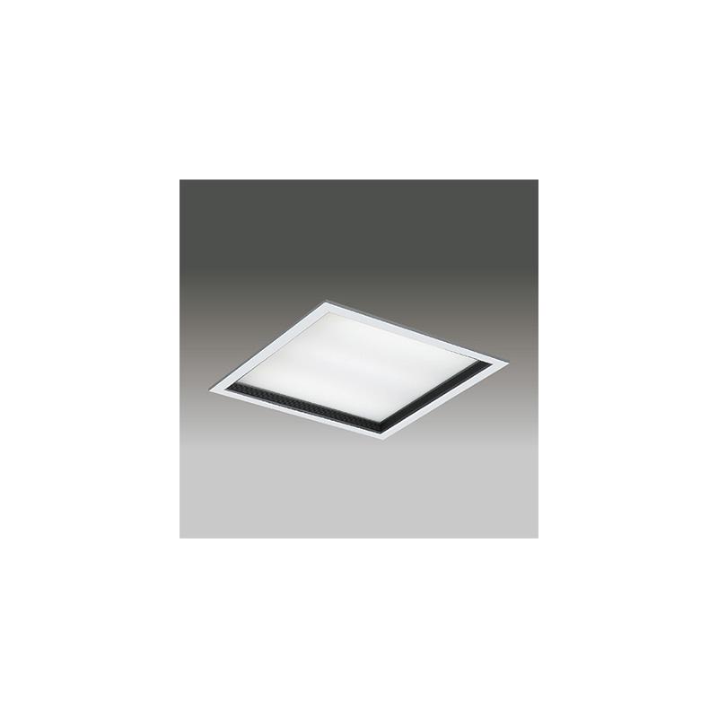 ☆東芝 LEDベースライト TENQOOスクエア パネルタイプ FHP45形×4灯用器具相当 温白色 埋込形 深枠(黒)パネル 埋込穴□600mm AC100V~242V 専用調光器対応 LEDパネル付 LEKR760101KWWLD9