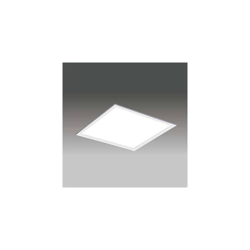 ☆東芝 LEDベースライト TENQOOスクエア パネルタイプ Hf16形×4灯用器具相当 昼白色 埋込形 乳白パネル 埋込穴□639mm 専用調光器対応 LEDパネル付 LEKR763501FNLD9(LEER76321LD9+LEEM70501NFW)