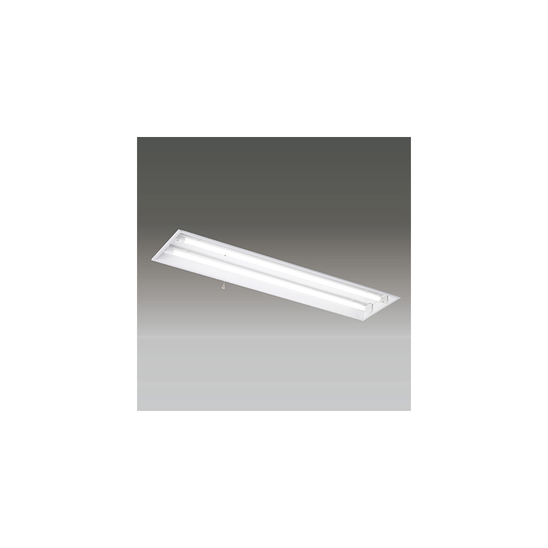 ☆東芝 LEDベースライト 埋込開放非常用照明器具 Sタイプ LDL40×2灯用 非常時定格光束3800lm×45% 非常時30分間点灯 昼白色 LEDランプ付 LEDRS42479KLS9