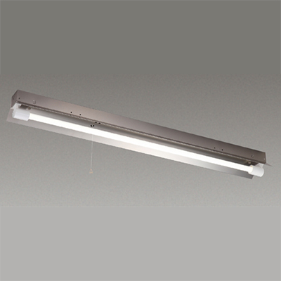 ☆東芝 LEDベースライト 防湿・防雨形 反射笠非常用器具 ステンレス Jタイプ LDL40×1灯用 非常時定格光束2500lm×50% 非常時30分間点灯 昼白色 LEDランプ付 LEDTJ41183LS9 ※受注生産品