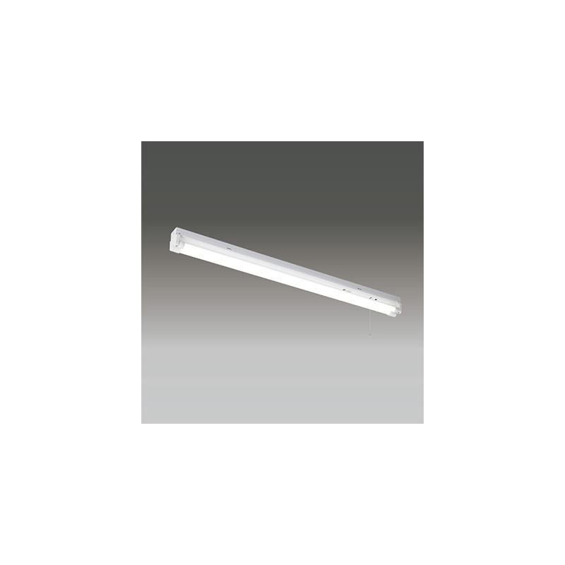 ☆東芝 LEDベースライト 笠なし非常用照明器具(トラフ) Sタイプ LDL40×2灯用 非常時定格光束3800lm×45% 非常時30分間点灯 昼白色 LEDランプ付 LEDTS42007NLS9