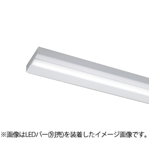 ☆東芝 LEDベースライト TENQOO 器具本体 直付形 110タイプ 直付下面開放 専用調光器対応 AC200V~242V (LEDバー別売り) LEET82501LD2
