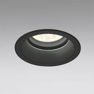 ☆ODELIC LED軒下用ベースダウンライト CDM-TP70W相当 ブラック 51° 埋込穴Φ150mm 電球色 3000K  M形 一般型 調光非対応 防雨形 XD258030F ※受注生産品