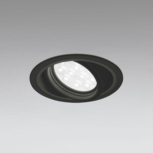 ☆ODELIC LEDベースダウンライト CDM-T35W相当 ブラック 49° 埋込穴Φ125mm 白色 4000K  M形 一般型 専用調光器対応 XD258144P (調光器・信号線別売) ※受注生産品