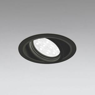 ☆ODELIC LEDベースダウンライト CDM-T35W相当 ブラック 49° 埋込穴Φ125mm 温白色 3500K  M形 一般型 調光非対応 XD258193F ※受注生産品