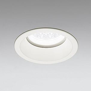 ☆ODELIC LED軒下用ベースダウンライト CDM-TP70W相当 オフホワイト 29° 埋込穴Φ150mm 昼白色 5000K  M形 一般型 調光非対応 防雨形 XD258279F ※受注生産品