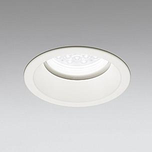☆ODELIC LED軒下用ベースダウンライト CDM-TP70W相当 オフホワイト 14° 埋込穴Φ150mm 白色 4000K  M形 一般型 調光非対応 防雨形 XD258283F ※受注生産品