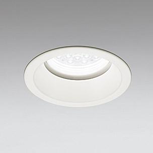 ☆ODELIC LED軒下用ベースダウンライト CDM-TP70W相当 オフホワイト 45° 埋込穴Φ150mm 白色 4000K  M形 一般型 調光非対応 防雨形 XD258287F ※受注生産品