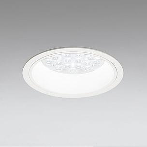 ☆ODELIC LEDベースダウンライト CDM-TP70W相当 オフホワイト 47° 埋込穴Φ150mm 昼白色 5000K  M形 一般型 専用調光器対応 XD258525P (調光器・信号線別売) ※受注生産品