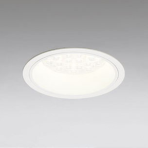 ☆ODELIC LEDベースダウンライト CDM-TP70W相当 オフホワイト 65° 埋込穴Φ150mm 電球色 3000K  M形 一般型 調光非対応 XD258533F ※受注生産品