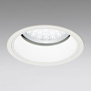 ☆ODELIC LEDベースダウンライト セラミックメタルハライド100W相当 アイボリーホワイト 69° 埋込穴Φ200mm 白色 4000K  M形 一般型 調光非対応 XD258537 ※受注生産品