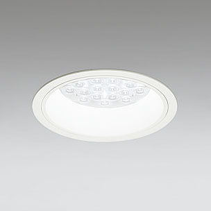 ☆ODELIC LEDベースダウンライト CDM-TP70W相当 オフホワイト 47° 埋込穴Φ150mm 温白色 3500K  M形 一般型 専用調光器対応 XD258574P (調光器・信号線別売) ※受注生産品