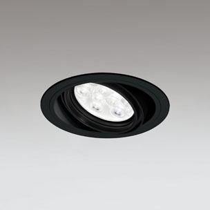 ☆ODELIC LEDユニバーサルダウンライト CDM-T35W相当 ブラック 20° 埋込穴Φ125mm 温白色 3500K  M形 一般型 調光非対応 XD258611F ※受注生産品