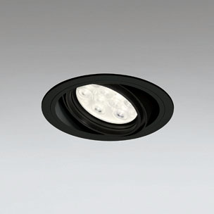 ☆ODELIC LEDユニバーサルダウンライト CDM-T35W相当 ブラック 14° 埋込穴Φ125mm 電球色 3000K  M形 一般型 調光非対応 XD258617F ※受注生産品