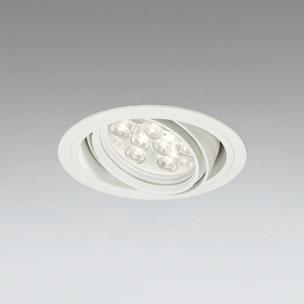 ☆ODELIC LEDユニバーサルダウンライト CDM-T35W相当 オフホワイト 20° 埋込穴Φ125mm 電球色 3000K  M形 一般型 調光非対応 XD258618F ※受注生産品