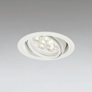 ☆ODELIC LEDユニバーサルダウンライト CDM-T35W相当 オフホワイト 27° 埋込穴Φ125mm 電球色 3000K  M形 一般型 調光非対応 XD258620F ※受注生産品