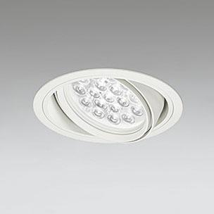 ☆ODELIC LEDユニバーサルダウンライト CDM-T70W相当 オフホワイト 27° 埋込穴Φ150mm 白色 4000K  M形 一般型 専用調光器対応 XD258654P (調光器・信号線別売) ※受注生産品