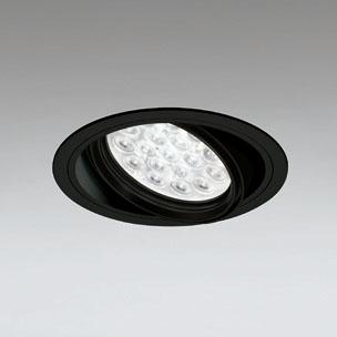 ☆ODELIC LEDユニバーサルダウンライト CDM-T70W相当 ブラック 27° 埋込穴Φ150mm 白色 4000K  M形 一般型 調光非対応 XD258655F ※受注生産品