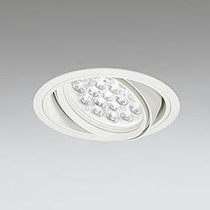 ☆ODELIC LEDユニバーサルダウンライト CDM-T70W相当 オフホワイト 47° 埋込穴Φ150mm 白色 4000K  M形 一般型 専用調光器対応 XD258656P (調光器・信号線別売) ※受注生産品