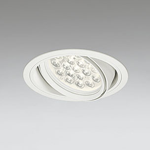 ☆ODELIC LEDユニバーサルダウンライト CDM-T70W相当 オフホワイト 14° 埋込穴Φ150mm 電球色 3000K  M形 一般型 専用調光器対応 XD258666P (調光器・信号線別売) ※受注生産品