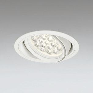 ☆ODELIC LEDユニバーサルダウンライト CDM-T70W相当 オフホワイト 47° 埋込穴Φ150mm 電球色 3000K  M形 一般型 調光非対応 XD258672F ※受注生産品