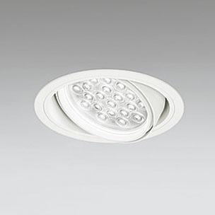 ☆ODELIC LEDユニバーサルダウンライト CDM-T70W相当 オフホワイト 47° 埋込穴Φ150mm 白色 4000K  M形 一般型 専用調光器対応 XD258817P (調光器・信号線別売) ※受注生産品