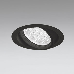 ☆ODELIC LEDユニバーサルダウンライト CDM-T70W相当 ブラック 20° 埋込穴Φ150mm 温白色 3500K  M形 一般型 専用調光器対応 XD258824P (調光器・信号線別売) ※受注生産品