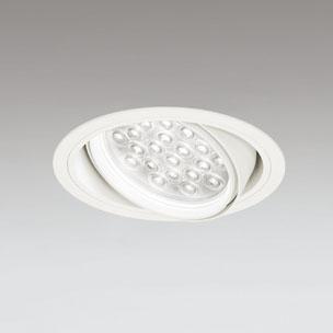 ☆ODELIC LEDユニバーサルダウンライト CDM-T70W相当 オフホワイト 27° 埋込穴Φ150mm 温白色 3500K  M形 一般型 調光非対応 XD258825F ※受注生産品