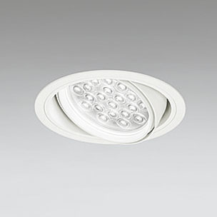 ☆ODELIC LEDユニバーサルダウンライト CDM-T70W相当 オフホワイト 27° 埋込穴Φ150mm 温白色 3500K  M形 一般型 専用調光器対応 XD258825P (調光器・信号線別売) ※受注生産品