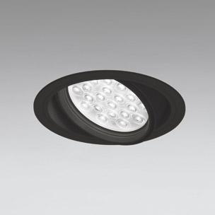 ☆ODELIC LEDユニバーサルダウンライト CDM-T70W相当 ブラック 27° 埋込穴Φ150mm 温白色 3500K  M形 一般型 専用調光器対応 XD258826P (調光器・信号線別売) ※受注生産品