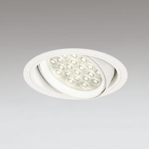 ☆ODELIC LEDユニバーサルダウンライト CDM-T70W相当 オフホワイト 27° 埋込穴Φ150mm 電球色 3000K  M形 一般型 調光非対応 XD258835F ※受注生産品