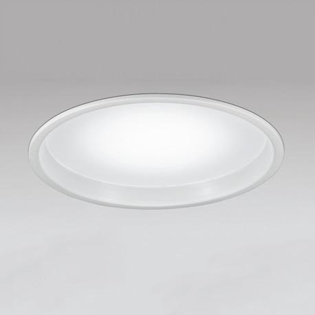 ☆ODELIC LEDラウンドベースライト FHP32W×4灯相当 ホワイト 埋込穴Φ600mm 昼白色 5000K 調光不可 XD266010