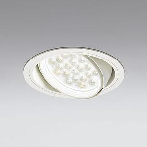 ☆ODELIC LEDユニバーサルダウンライト CDM-T70W相当 オフホワイト 53° 埋込穴Φ150mm 精肉・青果用 3200K  M形 一般型 調光非対応 XD301047 ※受注生産品